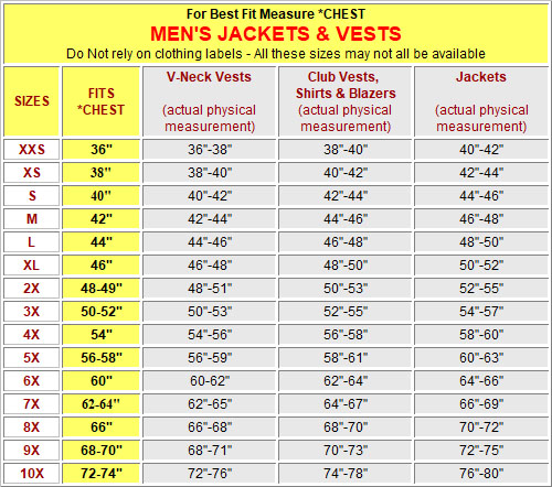 Men's Jackets and Vests