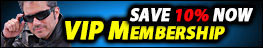 Save 10% NOW - VIP Membership