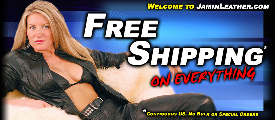 Free Shipping on Everything at JaminLeather.com
