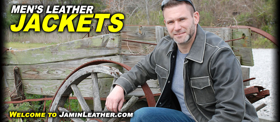 Men's Leather Jackets at JaminLeather.com