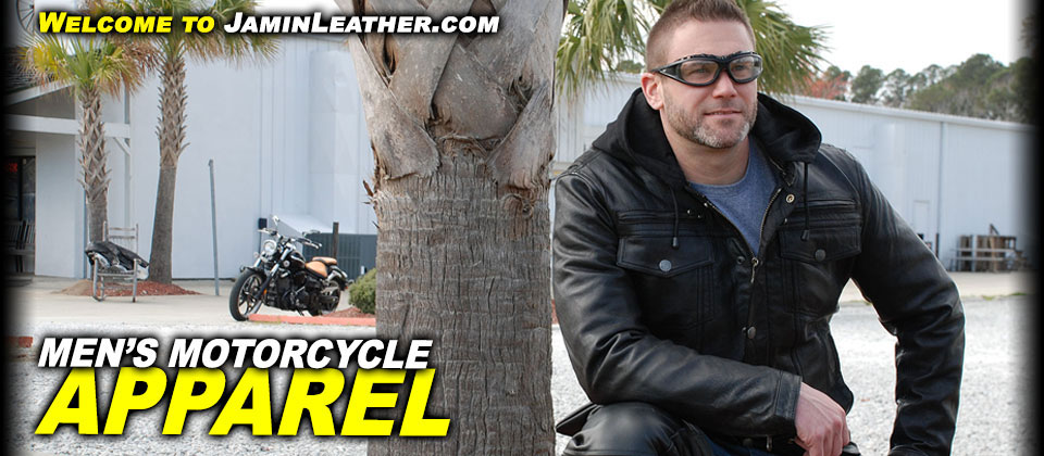Men's Motorcycle Apparel at JaminLeather.com