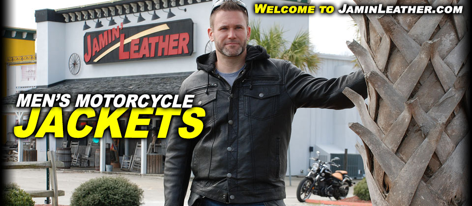 Men's Leather Motorcycle Jackets at JaminLeather.com