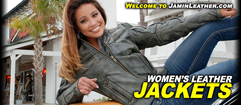 Women's Leather Jackets at JaminLeather.com